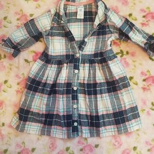 Carter's 12 month plaid dress